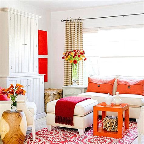 and orange living room design top color trends for 2013