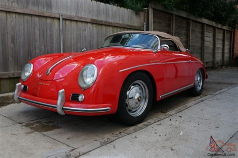 porsche 356 replica 1957 porsche 356 speedster replica built by intermaccanica