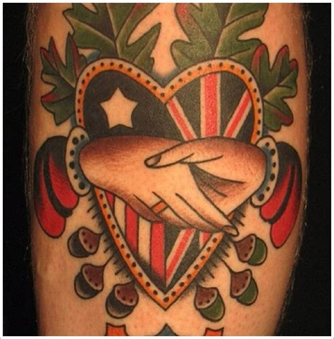 unique heart tattoos unique designs