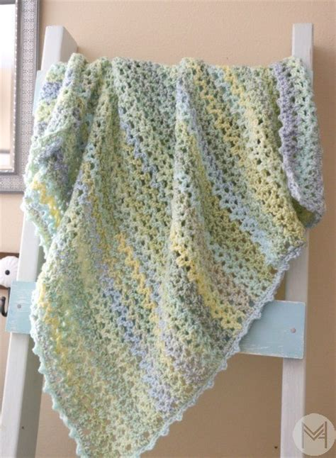 Step By Step Crochet Baby Blanket by Tutorial Learn To Read A Blanket Pattern And Add A