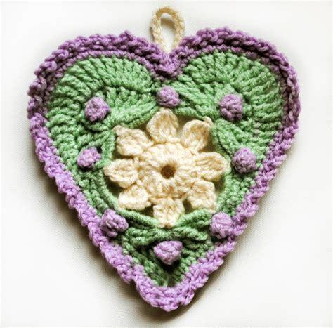 heart garland pattern crochet hearts garland mellie blossom