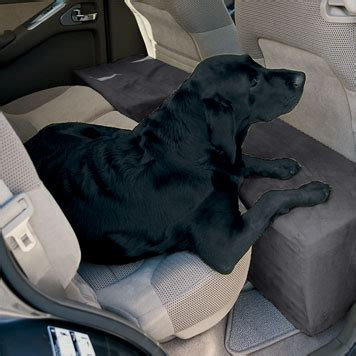 Comfortable Car Seat Cushions Dog Travel Accessory Solid Foam Microfiber Backseat