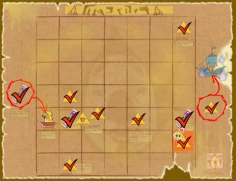 legend of zelda wind waker map related keywords suggestions for triforce shards