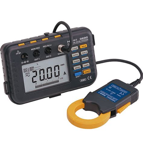 Multimeter Digital Hioki distributor cl meter hioki indonesia meter digital