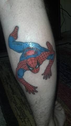 spiderman and his tattooed clone my husband and his tattoos