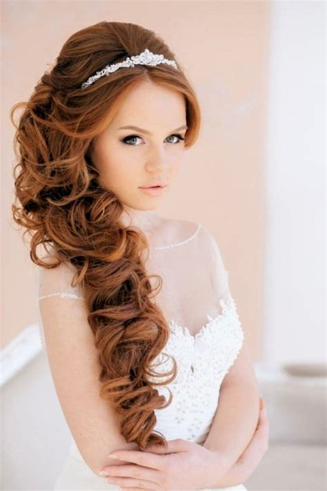 Home Decor Idea Wedding Hair Long Curly Long Hairstyles Wedding With Veil