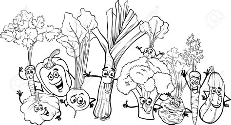coloring book pages of vegetables free coloring pages of vegetable gardens