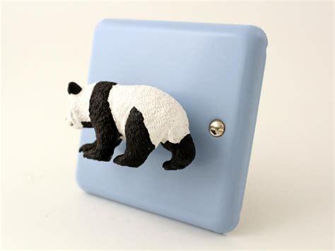 blue black and wight panda varilight pastel duck egg blue retro dimmer light switch