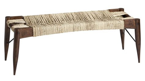 large benches wrap large woven bench cb2