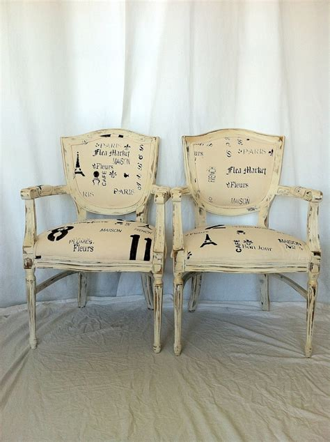 french shabby chic dining chairs love chairs pinterest