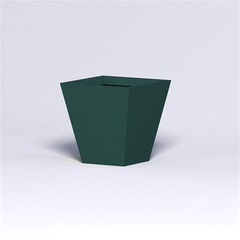 Modern Square Planter by Modern Tapered Fiberglass Commercial Planter 30in L X 30in W X 30in H