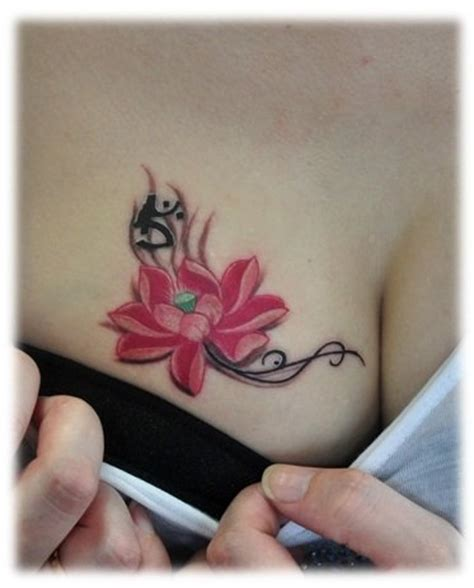 tattoo designs for girls breast design art