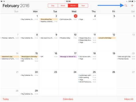 calendar layout ios how to display your calendar events as a list view widget