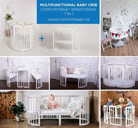 baby kinderbett oval comfortbaby smartgrow 7 in 1 ovales babybett kinderbett