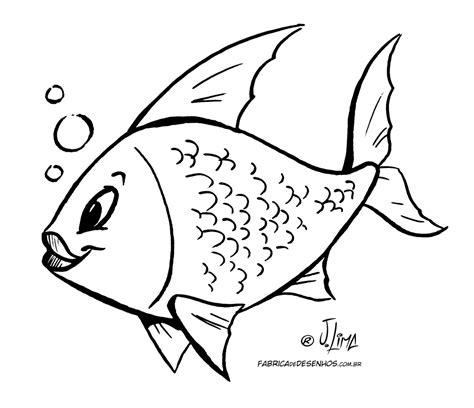 desenhos peixes pintar