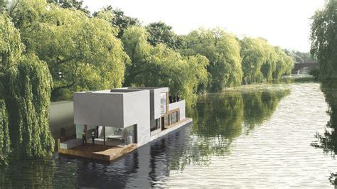 Hamburger Hausboote by Hausboot Hamburg Dfz Architekten