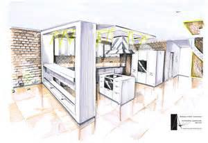 Modular Kitchen Cabinet Designs simple interior design sketches kitchen rendering 1 in