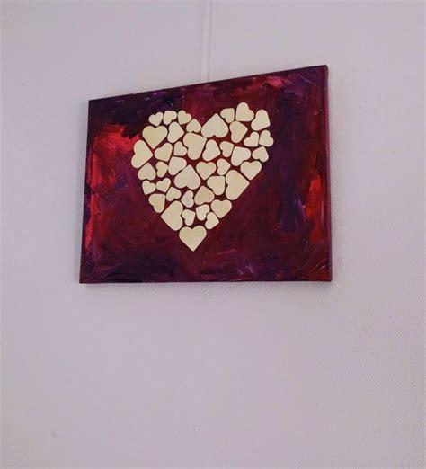Valentijn schilderij om te maken met kinderen