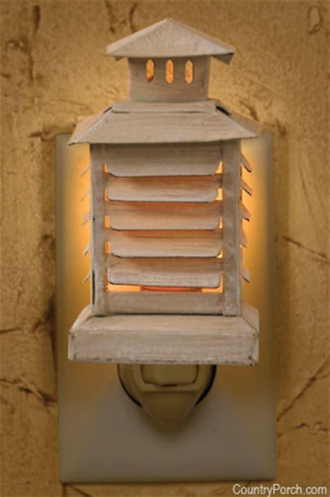 shutter lantern night light