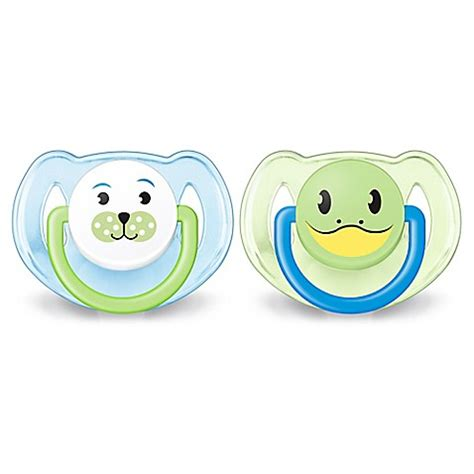 Philips Avent Soother 6 18m Single Free Flow Blue philips avent 6 18m 2 pack animal soothers in blue green