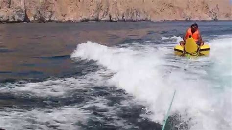 banana boat ride musandam musandam oman banana boat ride 2 youtube
