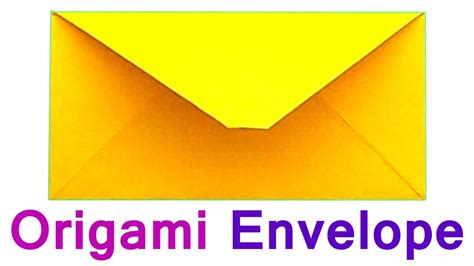Origami Envelope A4 Paper - how to make the envelope of paper a4 traditional