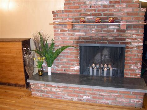 how to build a brick fireplace how to build a concrete fireplace hearth hearths