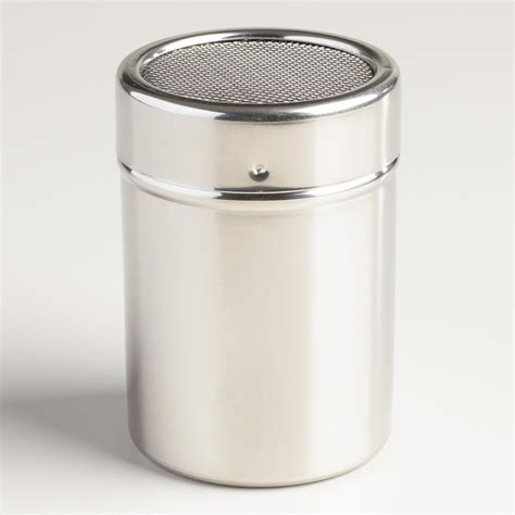 Spice Shaker | mesh stainless steel spice shaker world market