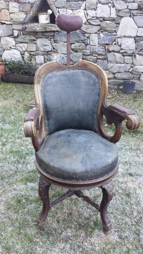 sedia da barbiere antica antica sedia barbiere vendo antica sedia cerca compra