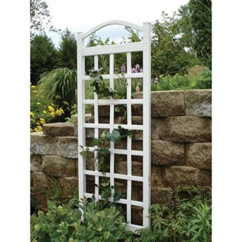 Trellis White large plant trellis white patio outdoor wall vine climbing freestanding yard ebay
