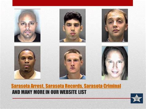 Arrest Records Sarasota Florida Sarasota Arrest Criminal Records Criminal Arrest Records In Sarasota Fl