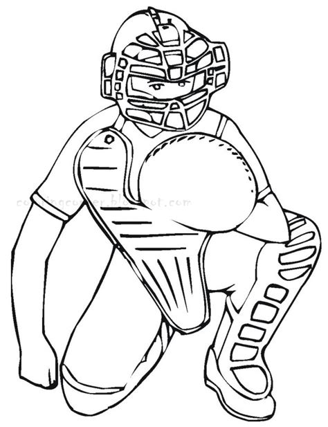 mlb free coloring pages
