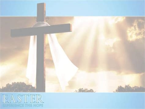 Church Powerpoint Template Easter Experience The Hope Sermoncentral Com Sermoncentral Easter