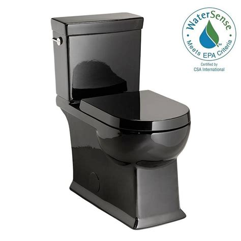 black toilet schon 2 1 28 gpf toilet in black tl 7221hc bk