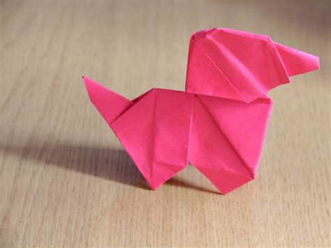 How To Make A Origami Puppy - how to make an origami wikihow