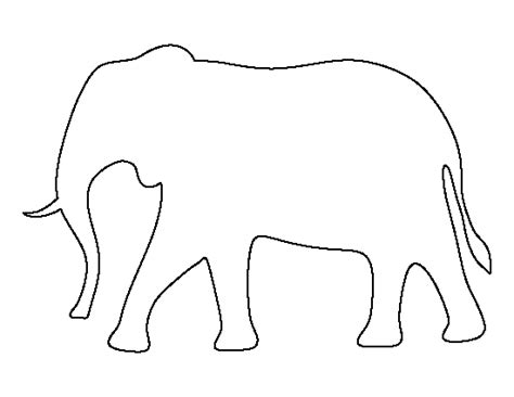 free printable elephant art pin by muse printables on printable patterns at