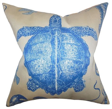 Coastal Pillow by Aeliena Coastal Pillow Blue Style Decorative Pillows By The Pillow Collection Inc
