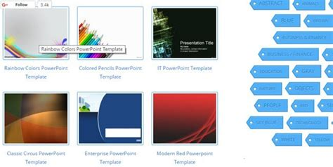 10 Great Websites For Free Powerpoint Templates Powerpoint Websites Free
