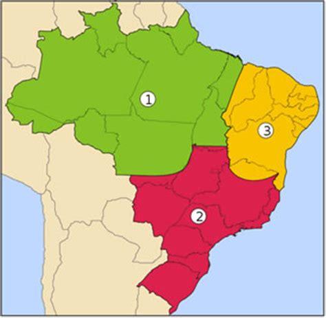 as regiões geoeconômicas do brasil mundo educação