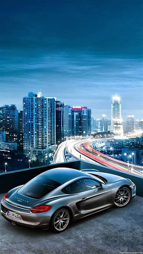 Car Wallpaper Hd Iphone 6 by Porsche Car Sky City View Iphone 6 Wallpapers Hd And 1080p