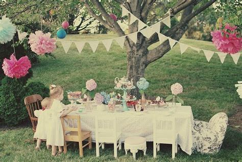 backyard tea party garden tea parties pretty little party ideas