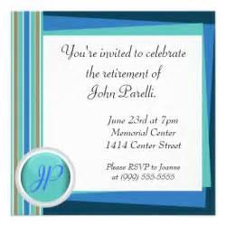 retirement invitations wording ideas