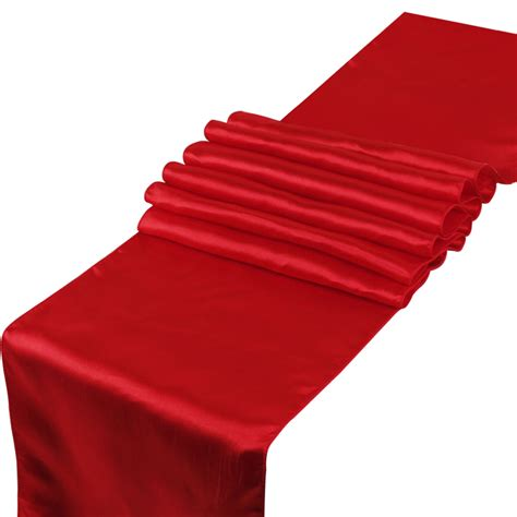 Satin Table Runner Taplak Satin Ungu wholesale new free shipping 10pcs satin table runner for wedding banquet in table