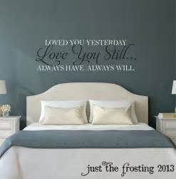 wall decals bedrooms master vinyl quotes kiss goodnight bedroom stickers deco home decor ebay