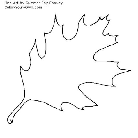 coloring pages oak leaf red oak leaf coloring pages coloring pages