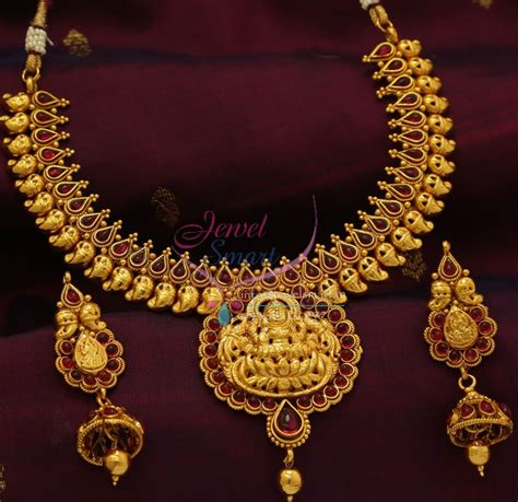 design necklace online tnl0768 indian traditional gold design quality temple