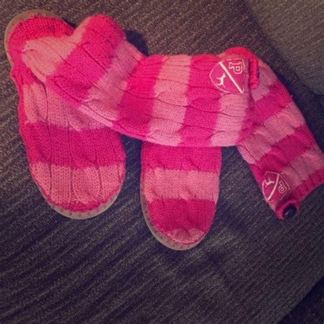 vs pink slippers 63 pink s secret shoes s secret