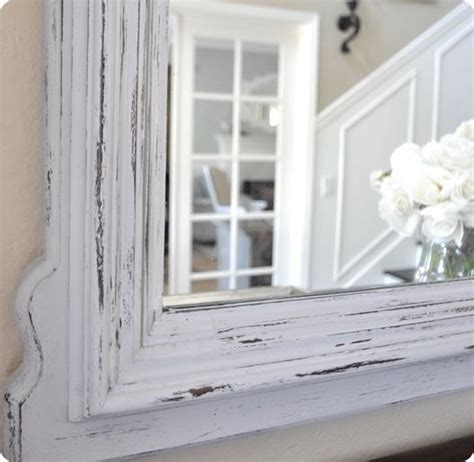 chalk paint mirror chalk paint mirror