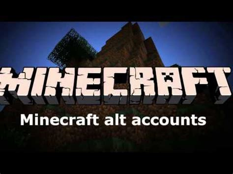 Minecraft Alts minecraft alt accounts 2015 12 all working