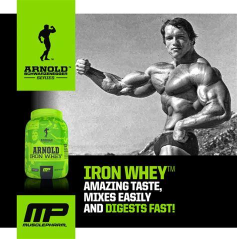 Arnold Iron Whey 5 Lbs 100 Whey Protein arnold schwarzenegger iron whey 5lbs proteina